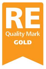 REQM Gold Award Badge